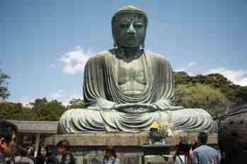 The Great Buddha in Kamakura