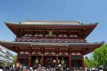 Tokyo Sensoji Inner Gate
