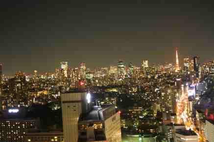 Tokyo Shinagawa Night Skyline