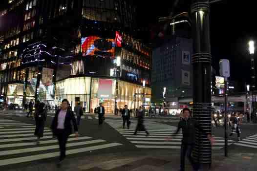 Tokyo The Crosswalk Ginza