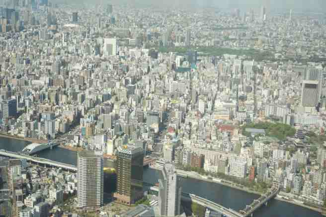 View of Tokyo from Tokyo Skytree