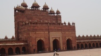 Buland Darwaza from the inside Fatehpur Sikri