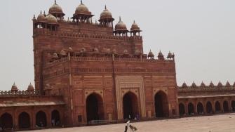 Buland Darwaza from the inside Fatehpur Sikri