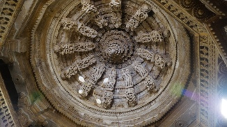 Ceiling in Jain Temple