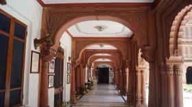 Corridors at Laxmi Niwas