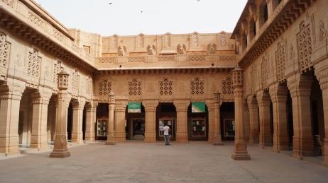 Courtyard inside Umaid Bhavan Palace