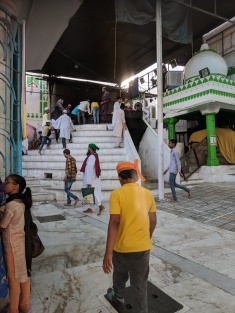Inside the Dargah Sharif in Ajmer