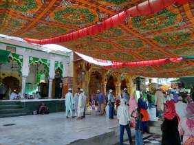 Inside the Dargah