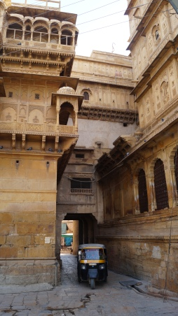 Inside the Jaisalmer Fort