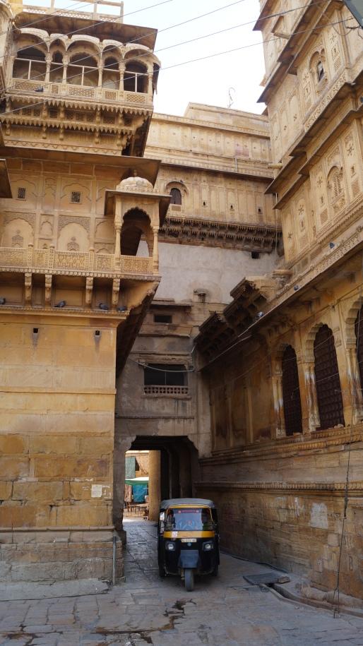 Inside the Jaisalmer Fort
