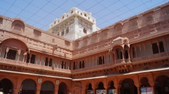 Junagarh Fort Building view from Inside