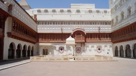 Junagarh Fort Court King Seat