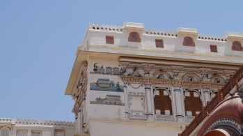 Junagarh Fort outside deco