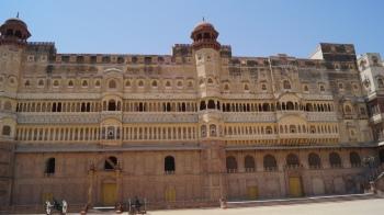Junagarh Fort outside
