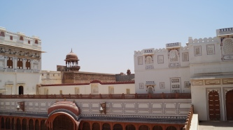 Junagarh Fort View from the First Floor