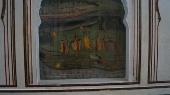 Junagarh Lord Krishna Painting