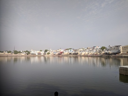 Lake in Pushkar