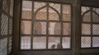 Marble screens at Fatehpur Sikri