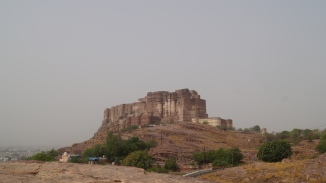 Mehrangarh Fort View from Jaswant Thada