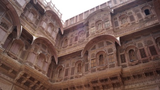 Mehrangarh Fort - windows with a purpose