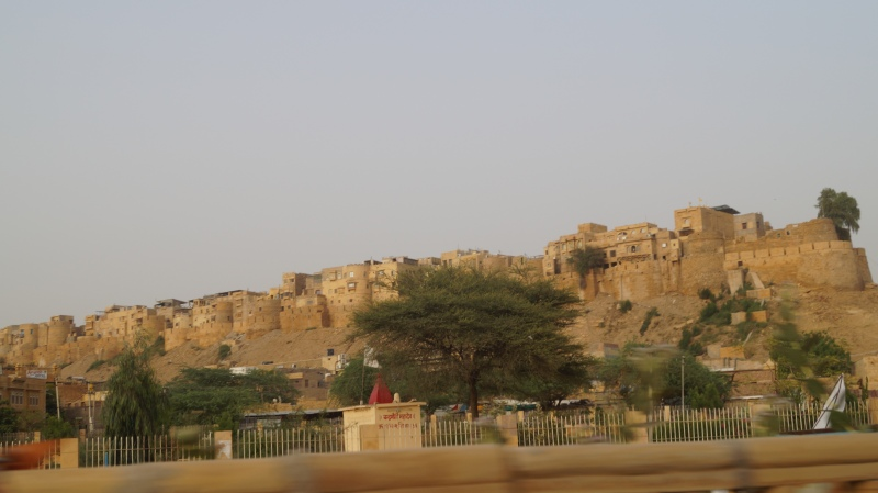 Outer wall of Jaisalmer Fort