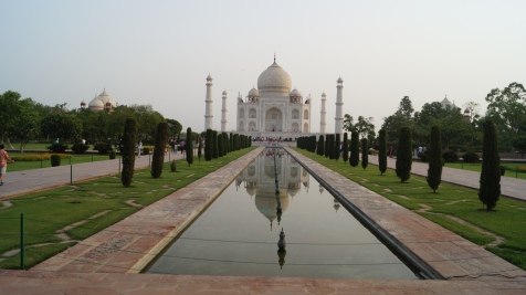 Sunrise at Taj