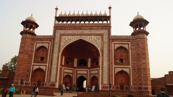 Taj Mahal Entrance close up