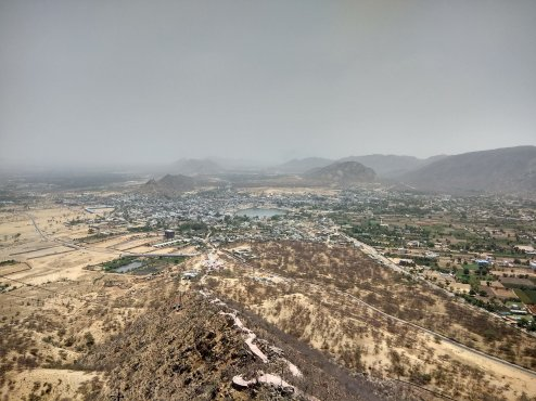 View from Top of Savitri Temple Hill