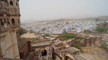 View of Jodhpur city from the fort