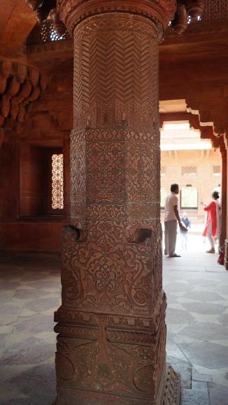 Zig zag at Fatehpur Sikri