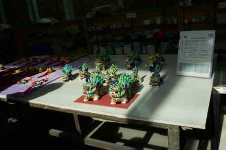 Ceramic Figurines in Xian
