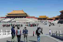 One of the many Courtyards of Forbidden City