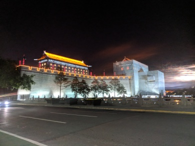 Xian City lights