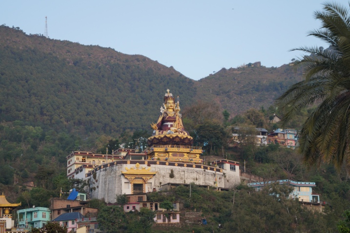 Close up view of Padmasambhava