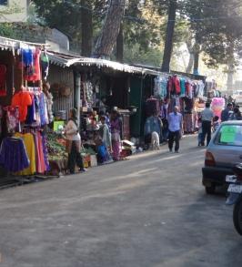 Kasauli Market shops