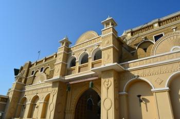 Entrance to Khirasara Palace
