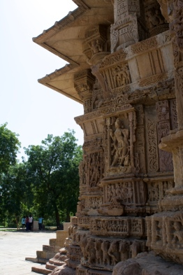 Exterior Carvings on the temple