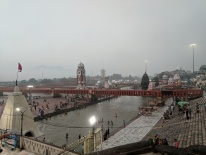 Haridwar in the morning perfect for a morning walk