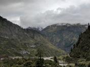 Himalayas near Harsil on the way to Gangotri