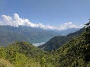 Himalayas near Uttarkashi on the way to Rishikesh