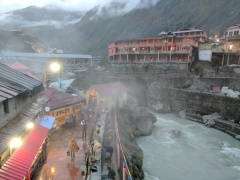 Hot spring Kund in Badrinath
