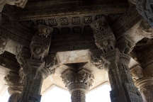 Interior of Temple at Modhera
