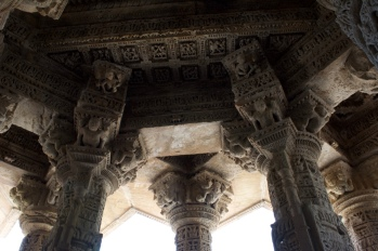 Interior of Temple at Modhera