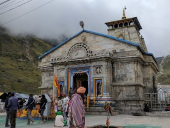 Kedarnath Temple View