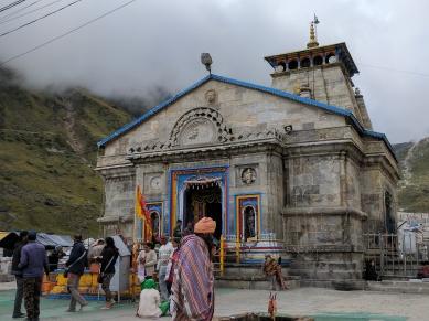 Kedarnath Temple View