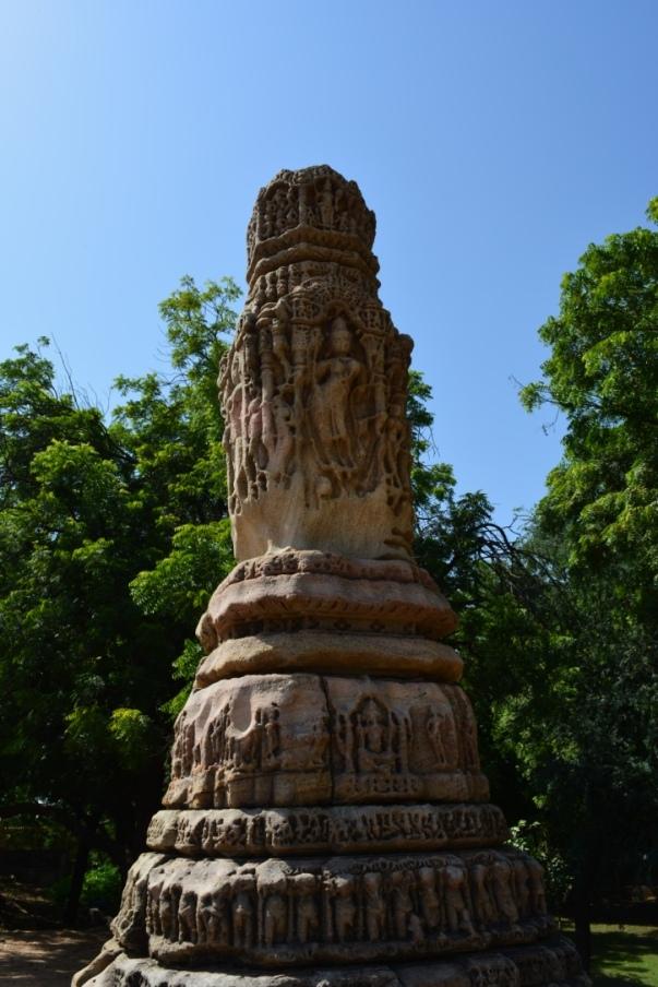 Pillar in Sun Temple