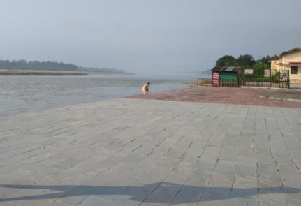 River Ganga near Paramarth Ashram