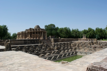 Step Well and Temple in Modhera