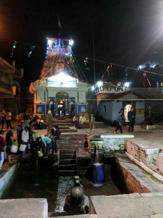 Temple at Guptkashi