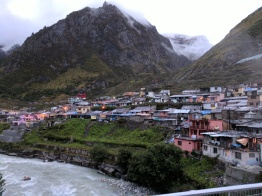 Town of Badrinath and Alaknanda